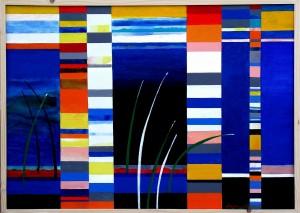 2012- fölötted az ég, alattad a föld..-akril-vászon-70x100