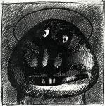 1980-Torzfej-glóriával-vegyes-19x19 (Copy)