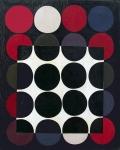 1969.-Húsz-kör-egy-négyzet-olaj-vászon-60x50