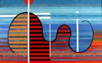 1999-Táj-vízszintesekkel-akril-vászon-100x160-